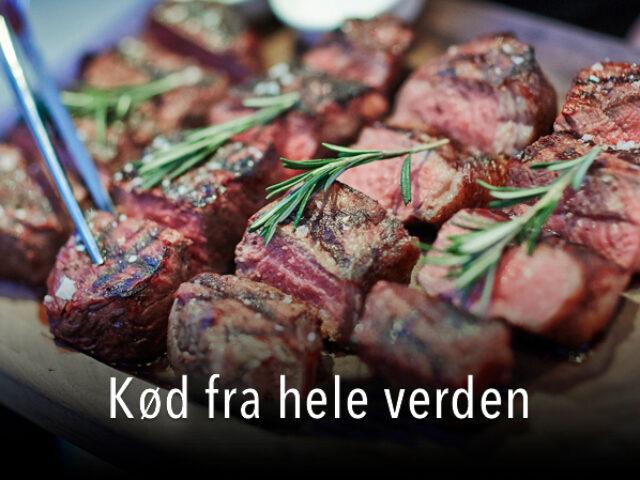 Kød fra hele verden