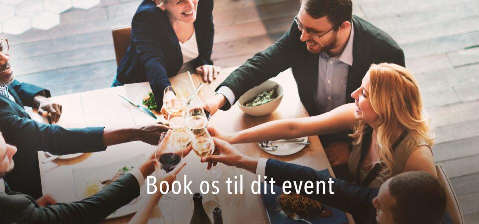 Book os til dit næste event